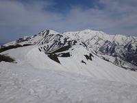 Long trail running(白山南北スキー縦走) - blog版 がおろ亭
