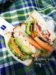 ヨヨピクにちょうどいいサンドイッチ発見♪ - パンある日記(仮)@この世にパンがある限り。