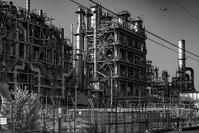 記憶の残像 2017年 工場 萌え? 神奈川県川崎市 -3 - ある日ある時 拡大版