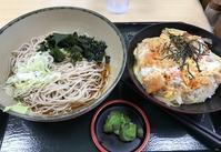 ミニかつ丼セット@箱根そば - よく飲むオバチャン☆本日のメニュー