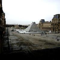 Musée du Louvre(Paris trip2) - Square Garden