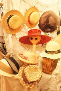 straw hat - carboots