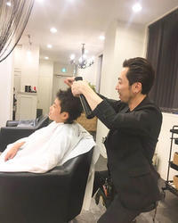 メンズ大人のヘアスタイル〜さっぱりしたその後は… - ~美容師Manabeeのハッピーパーマネントブログ~