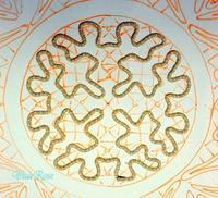 久し振りにルーマニアン・マクラメを始めます♪ ;(図案A-1) - ルーマニアン・マクラメに魅せられて