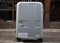 近藤康平オーダーペインティングでスーツケースが生まれ変わった - ! Buen viaje!(ブエン ビアーへ)旅と猫
