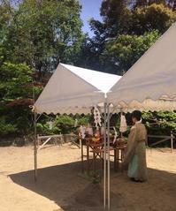 生駒山の家 地鎮祭 - 「木の家づくり」奈良の設計事務所FRONTdesign 女性建築士の設計ウェブログ