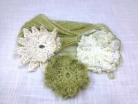 ☆ニゲラの花が嬉しかったイメージで編み編み☆ - ガジャのねーさんの  空をみあげて☆ Hazle cucu ☆