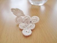 ぶどうのブローチ - Atelier-gekka ハンドメイドのおはなし
