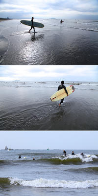 2017/05/07(SUN) 連休最終日.....小波残る海です。 - SURF RESEARCH