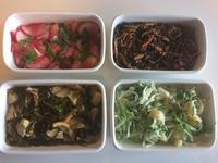 3人の方と一緒に常備菜4品作りました・・・5/7 - vegechi