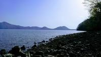 2017.5.7 支笏湖.強風と高波 - river side