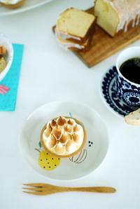 レモン菓子とアラビアのマグカップ - moko's cafe