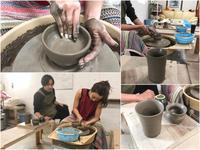 本日の陶芸教室 Vol.673 - 陶工房スタジオ ル・ポット