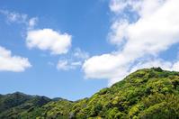 五月晴れb - 雲空海