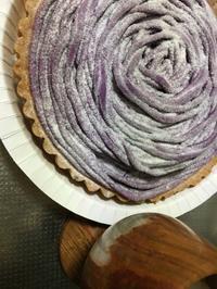 無印良品週間終わるぅ☆紫芋のモンブランタルト - SUPICA'S  BLOG