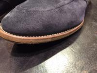 コバの手入れ - ルクアイーレ イセタンメンズスタイル シューケア&リペア工房<紳士靴・婦人靴のケア&修理>