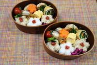 豆腐ハンバーグ弁当 - オヤコベントウ
