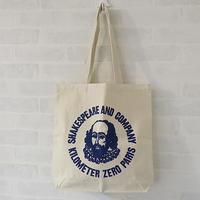 シェイクスピア アンド カンパニー(SHAKESPEARE AND COMPANY) ロゴエコバッグ ネイビー入荷 - かわいい暮らしに寄り添う雑貨*フランスと世界の雑貨 Darunのブログ