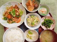 豚キムチ★(^^♪・・・・・700円ランチ - 日だまりカフェ