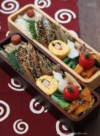 連休明けの鮭弁 ✿ 流行りにのってみた(๑¯﹃¯๑)♪ - **  mana's Kitchen **