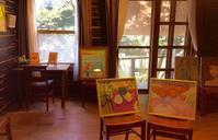二人展 love letter - coco diary 山口県 お花と絵とテーブルコーディネートレッスン