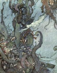 エドマンド・デュラック画:人魚姫① - Books