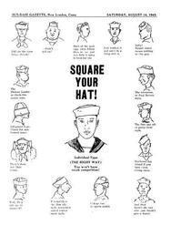 Seaman Hat!!!  (T.W.神戸店) - magnets vintage clothing コダワリがある大人の為に。