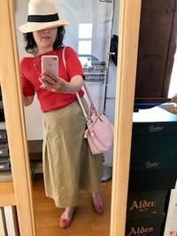 真夏日、ピンク×オレンジ - 着まわせない