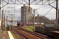 藤田八束の鉄道写真@北海道の貨物列車写真・・・・新札幌駅と北広島駅で貨物列車の写真を撮る - 藤田八束の日記