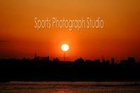 素敵な夕日 - スポーツカメラマン国分智の散歩の途中で