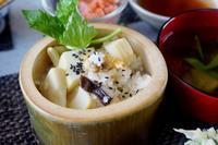 ■季節のおもてなし朝ご飯【①竹の子と浅利の炊き込みご飯・若竹汁】 - 「料理と趣味の部屋」