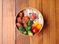 5/9(火)豚ロースのピリ辛ポン酢照り焼き弁当 - おひとりさまの食卓plus