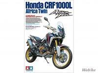 ウェビックさんの「【新製品】タミヤ、1/6オートバイシリーズ「Honda CRF1000L アフリカツイン」を6/24頃に発売」 - マーチとバイク