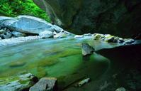 眩い緑の渓流 5 - 天野主税写遊館