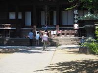 上野寛永寺 - 絵を描きながら