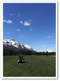 My golf season has begun! - カナディアンロッキーで暮らす
