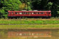 あかまつと水鏡 - 今日も丹後鉄道