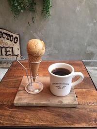 Mighty steps coffee stop @日本橋 & BREIZH Cafe CREPERIE @表参道  - mayumin blog 2