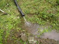 農夫 水路を復旧する  - ひろしの「どっこい田んぼのジャージーデー」