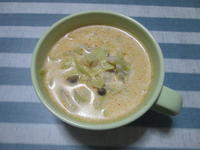 やさしい味わい^^キムチ風味のミルクスープ - candy&sarry&・・・2