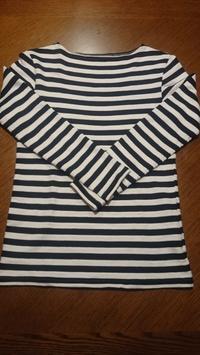 ボートネックTシャツ - nor*ico