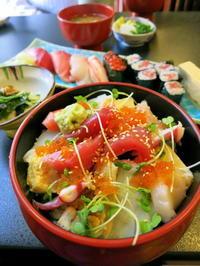 菊寿司*お得な「老舗賄い海鮮ちらし」菜の花畑とセットで是非♪ - ぴきょログ~軽井沢でぐーたら生活~