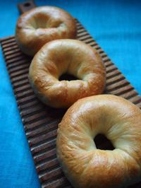 ベーグル☆リンゴ酵母☆ - 天然酵母パン教室☆ange☆