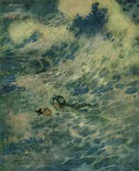 エドマンド・デュラック画:人魚姫③ - Books