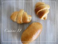 ローカーボロールパン - cuisine18 晴れのち晴れ