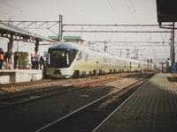 会津若松駅に四季島がやってきた。 - カメラ小僧ぷーちゃんのGRフォトダイアリー。