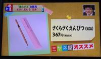 【さくらさくえんぴつ】がミヤネ屋にでました! - 筆耕アーティスト 道口久美子 BLOG