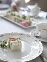 5月の紅茶レッスン アドバンスクラス ティーフーズ - お茶をどうぞ♪