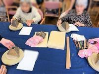 【三角かびん】 - 出張陶芸教室げんき工房