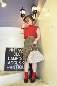 RED×GREEN SUMMER LADY STYLE -  NUTTY BLOG